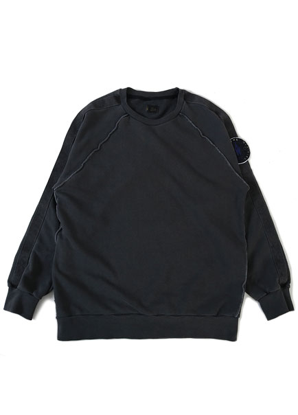 [더오피셜위크앤드]WEBBING PIGMENT SWEAT SHIRT