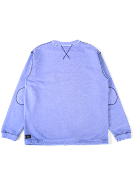 [더오피셜위크앤드]MELANGE PIGMENT SWEAT SHIRT