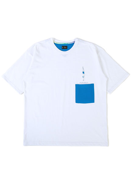 [더오피셜위크앤드]DIAVING POCKET SHORT SLEEVE